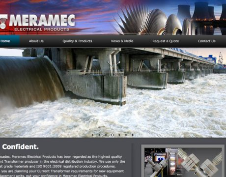Meramec Electrical Website